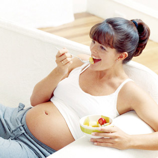 healthy eating while pregnant