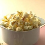 healthy snacking popcorn